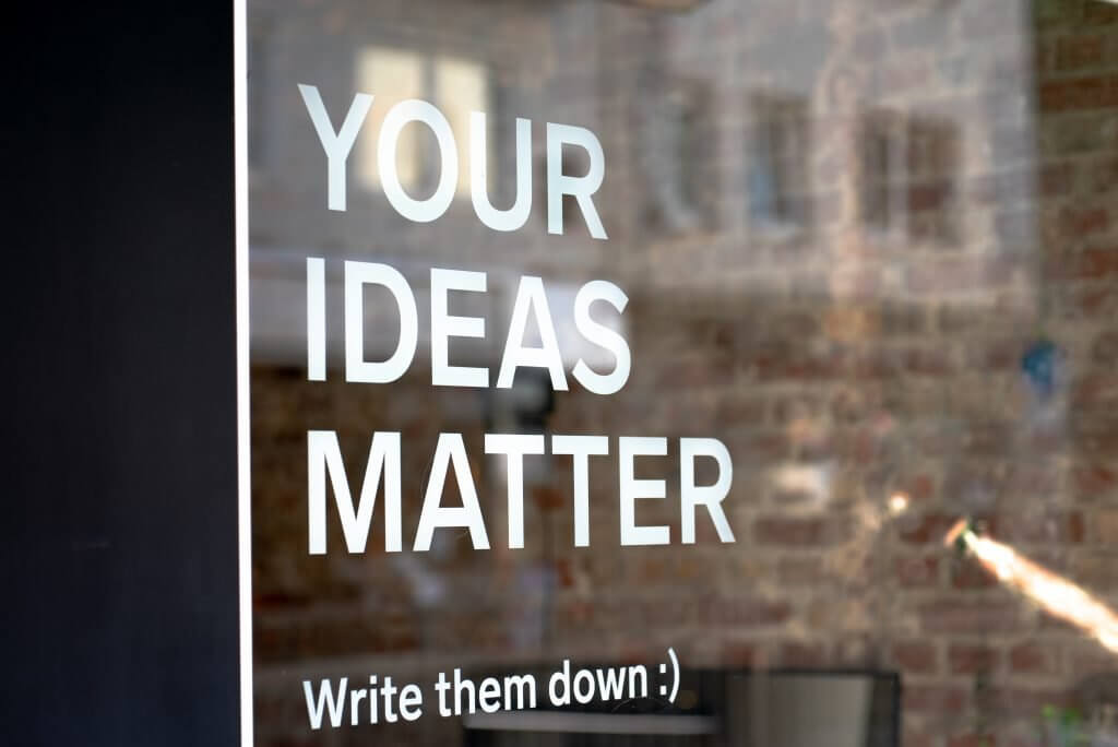 Your ideas matter. Write them down. Use psychology of writing techniques for greater cut-through